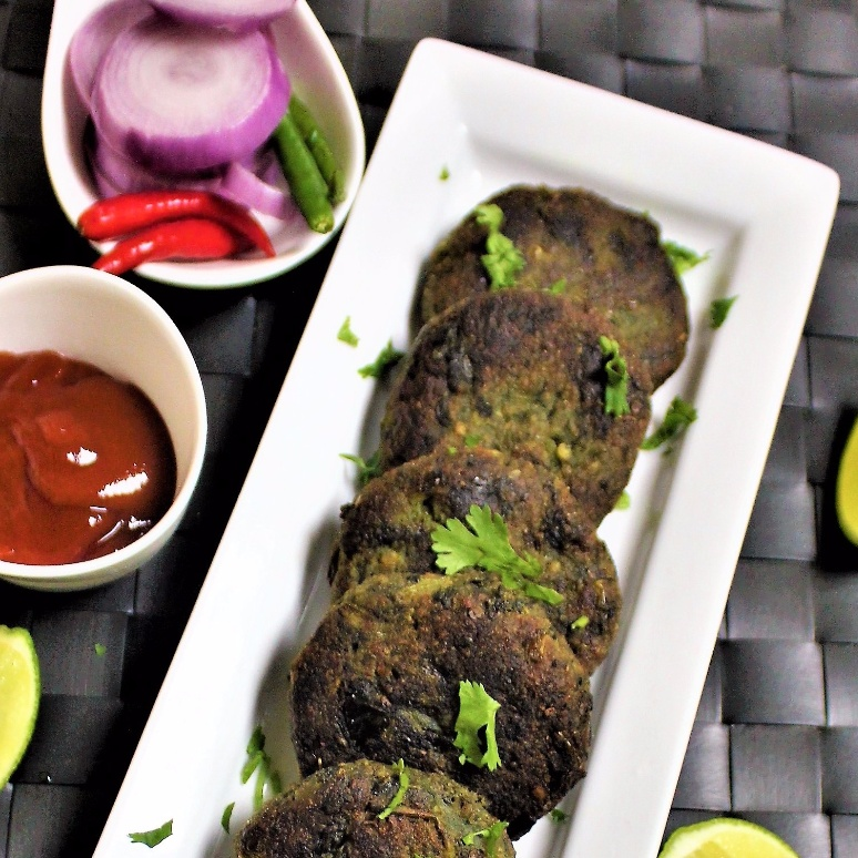 How to make Spinach Oats Tikki