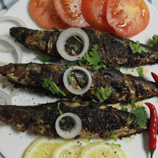 Photo of Spicy & Tangy Sardine Fish Fry by Bethica Das at BetterButter