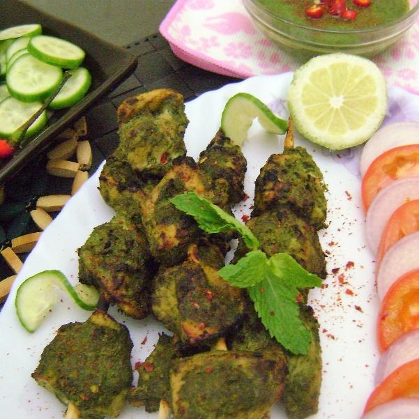 Photo of Hariyali Chicken Tikka by Bethica Das at BetterButter
