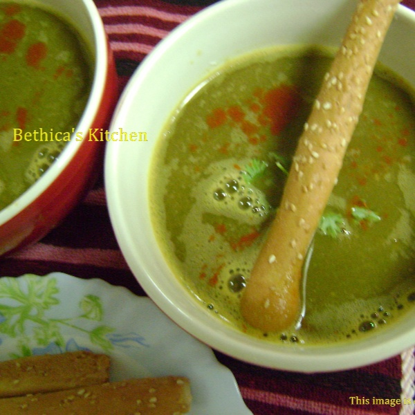 Photo of Palak Dal Shorba by Bethica Das at BetterButter