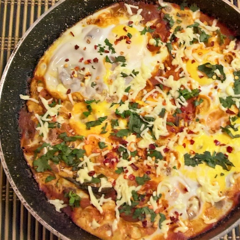 Photo of ShakShuka - Fusion Style by Bethica Das at BetterButter
