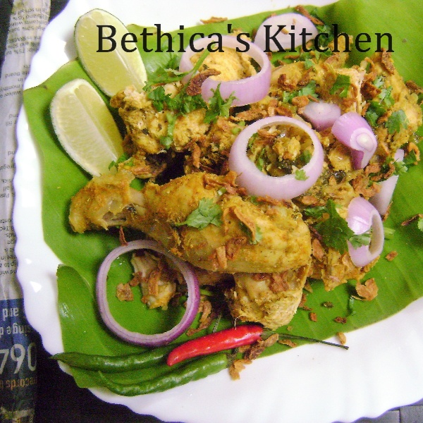 How to make OIl Free Bamboo Chicken