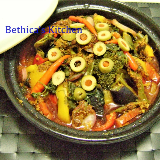Photo of Moroccan VegetableTagine by Bethica Das at BetterButter