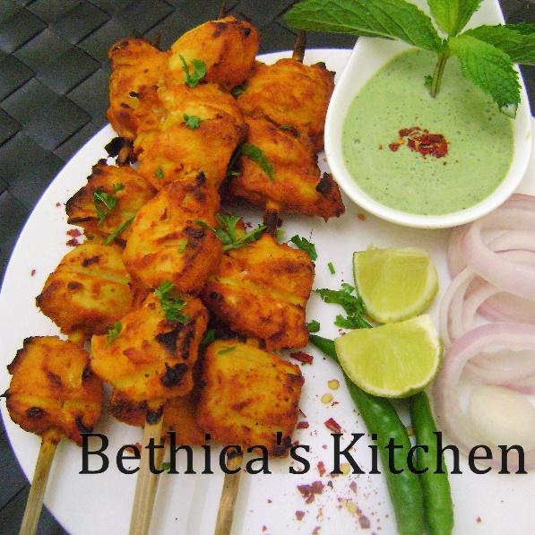 How to make Achari Chicken Tikka