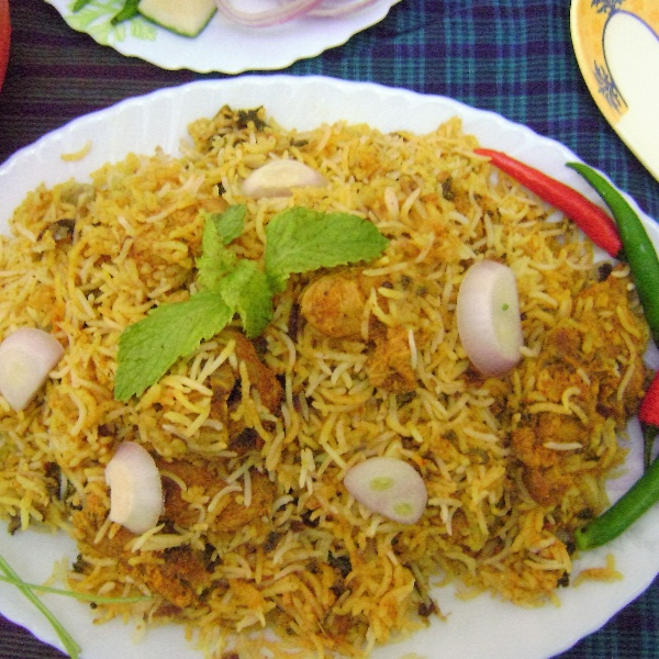 How to make Achari Mutton Dum Biryani
