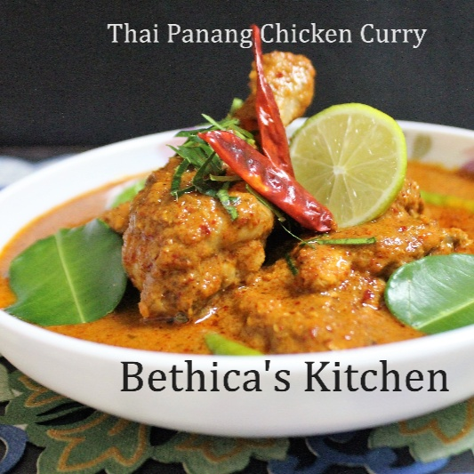 How to make Thai Panang Chicken Curry