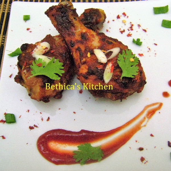 Photo of Grilled Garlic Chicken by Bethica Das at BetterButter