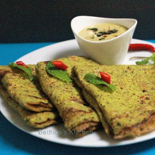 How to make Mixed Dal Cheela