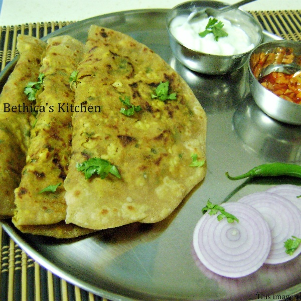Photo of Paneer Paratha by Bethica Das at BetterButter