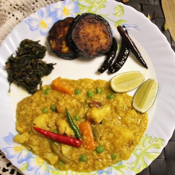 How to make Bhuna Oats Khichdi