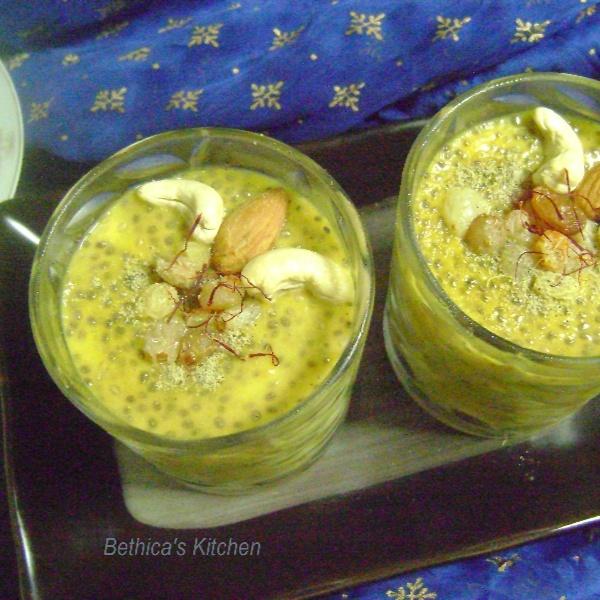 How to make Mango Chia Pudding