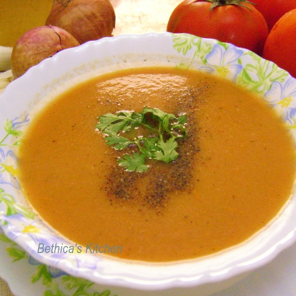 Photo of Tomato Soup by Bethica Das at BetterButter