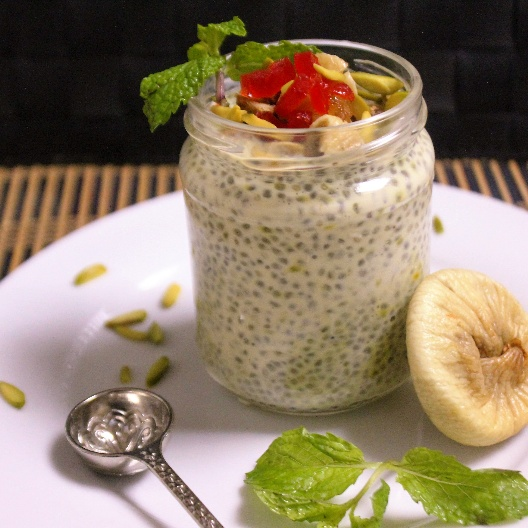 How to make Chia & Fig Pudding