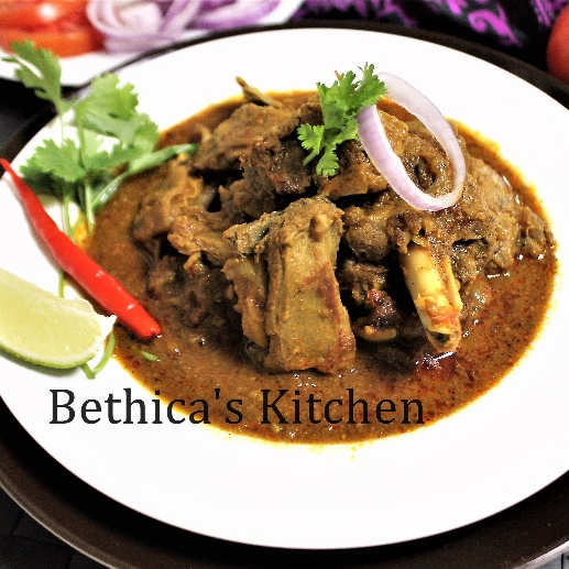 Photo of Kolhapuri Mutton Curry by Bethica Das at BetterButter