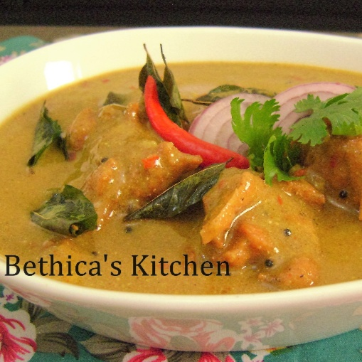 Photo of Kadhi Pakora - South Indian Style by Bethica Das at BetterButter
