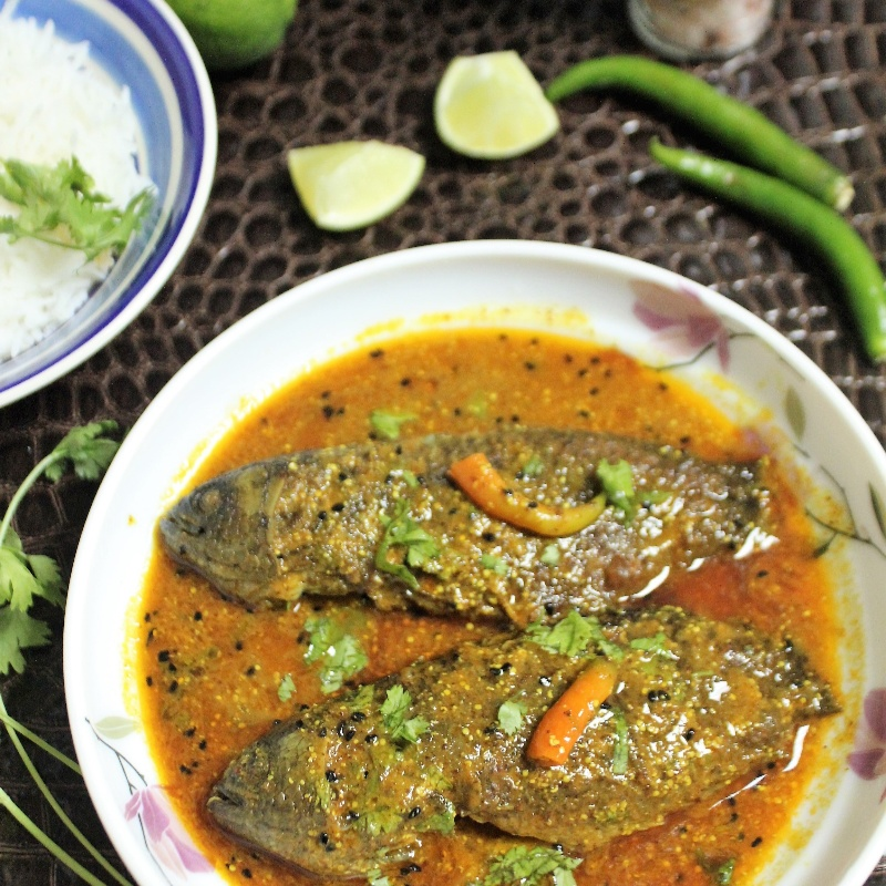 Photo of Koi Macher Jhaal (Bengali Fish Curry) by Bethica Das at BetterButter