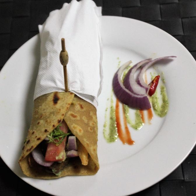 How to make Mutton Seekh Kebab Roll