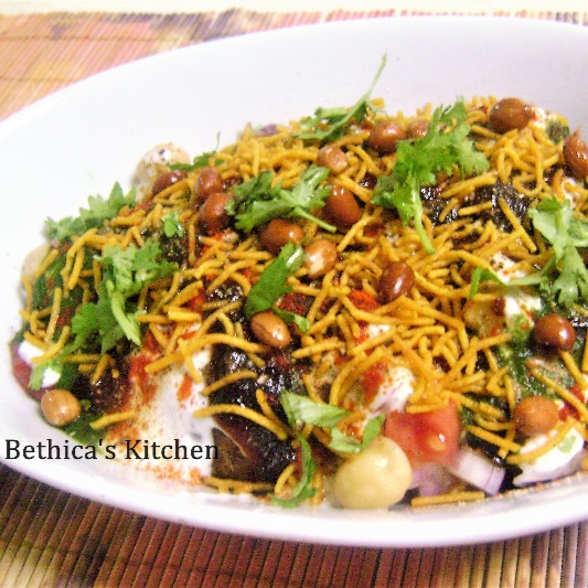 How to make Mathri Chaat (Savoury Snack)