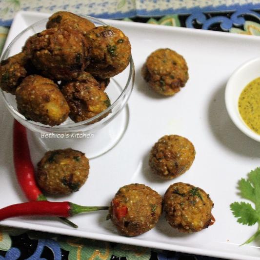 How to make Bajra Pakora (Pearl Millet Fritters