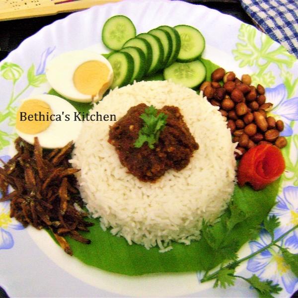 How to make Nasi Lemak (Malaysia)