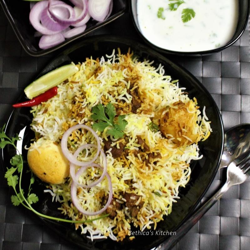 How to make Kolkata Style Mutton Biryani