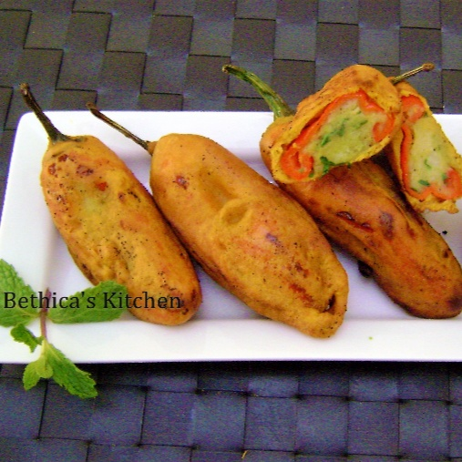 How to make Mirchi Vada