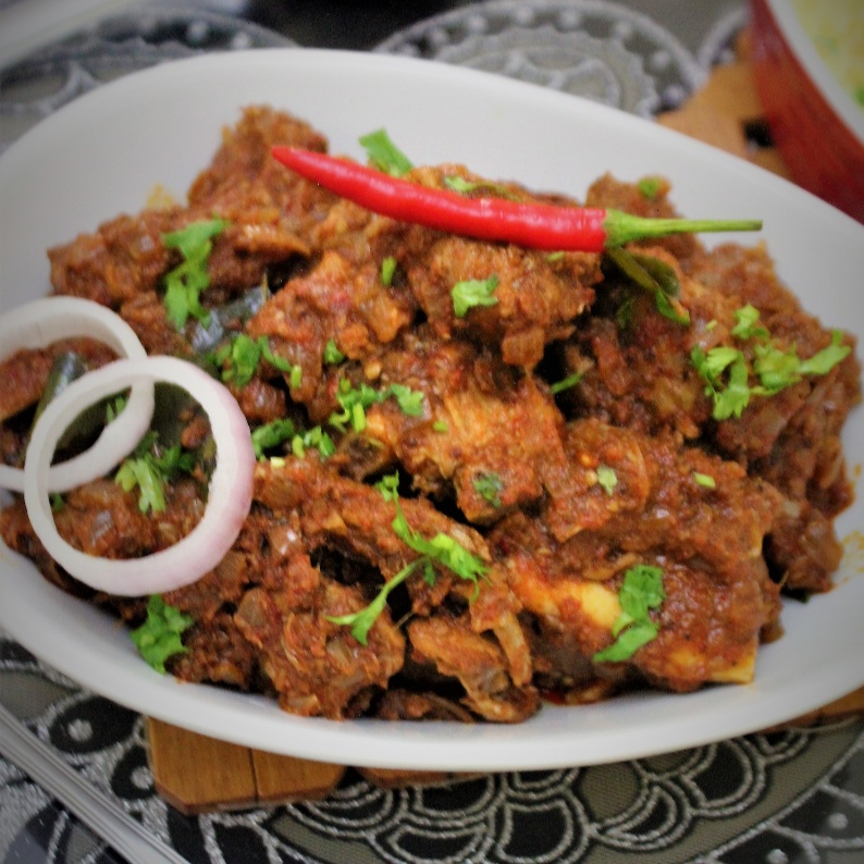 How to make Spicy Mutton Masala
