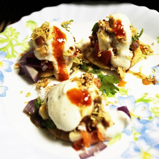 How to make Dahi Papdi Chaat (Indian Street Snack)
