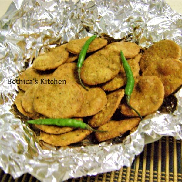 How to make Mathri  (Deep Fried Crackers)
