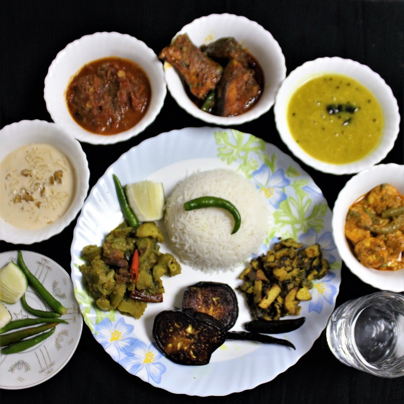 Photo of Traditional Bengali Platter by Bethica Das at BetterButter