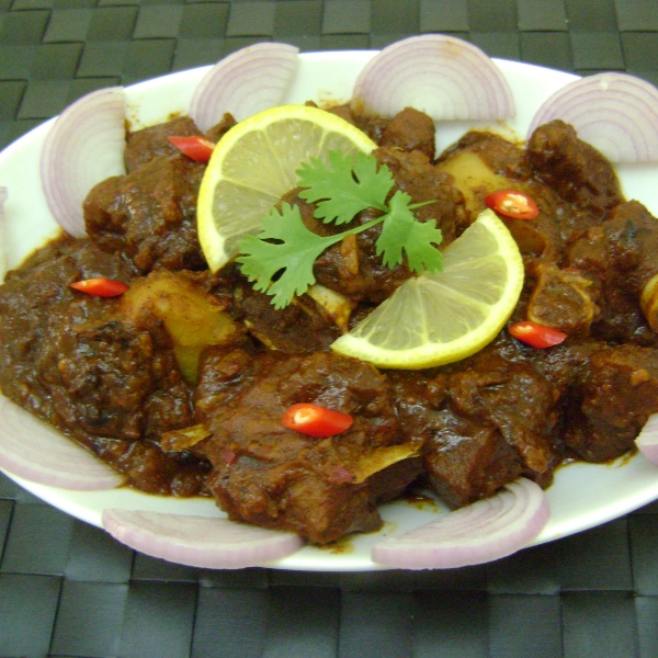 Photo of Kosha Mangsho (Mutton Curry - Bengali Style) by Bethica Das at BetterButter