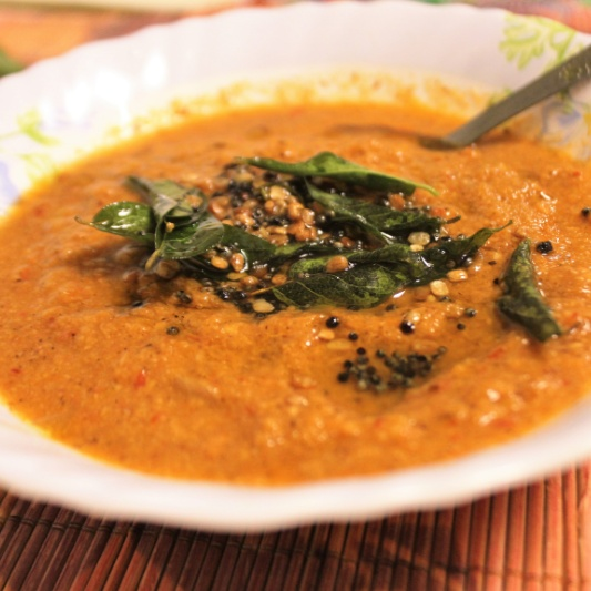 How to make Tomato Coconut Chutney