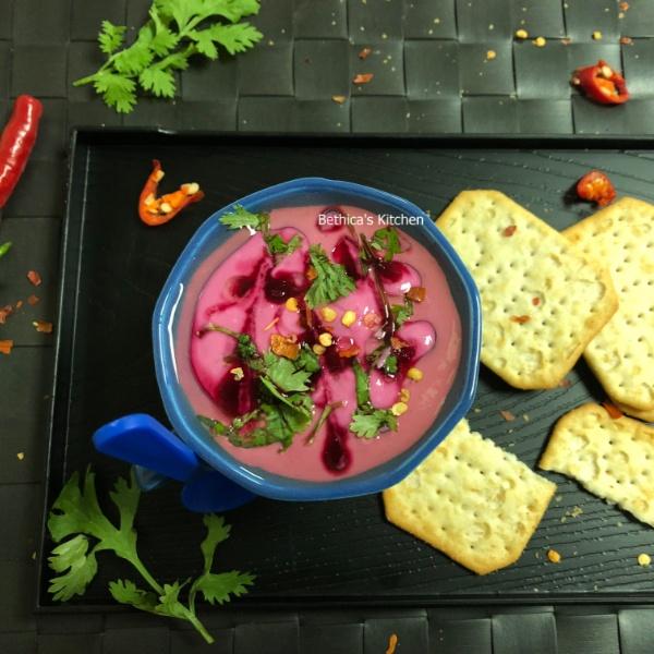 How to make Beetroot & Yoghurt Dip