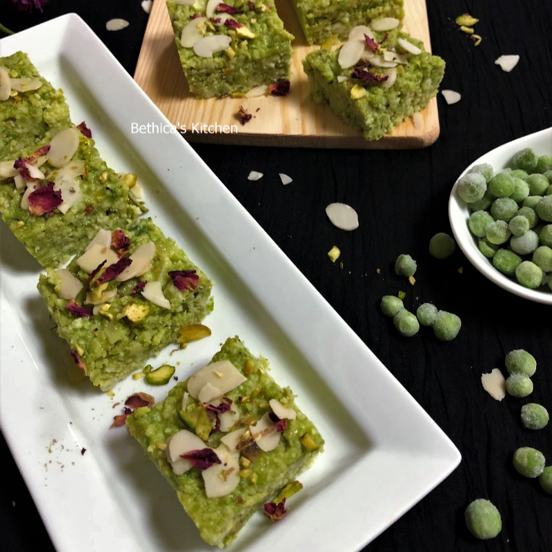 Photo of Green Peas Kalakand by Bethica Das at BetterButter