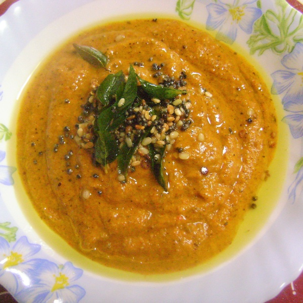 Photo of Raw Mango Chutney - Andhra / Telangana Style) by Bethica Das at BetterButter