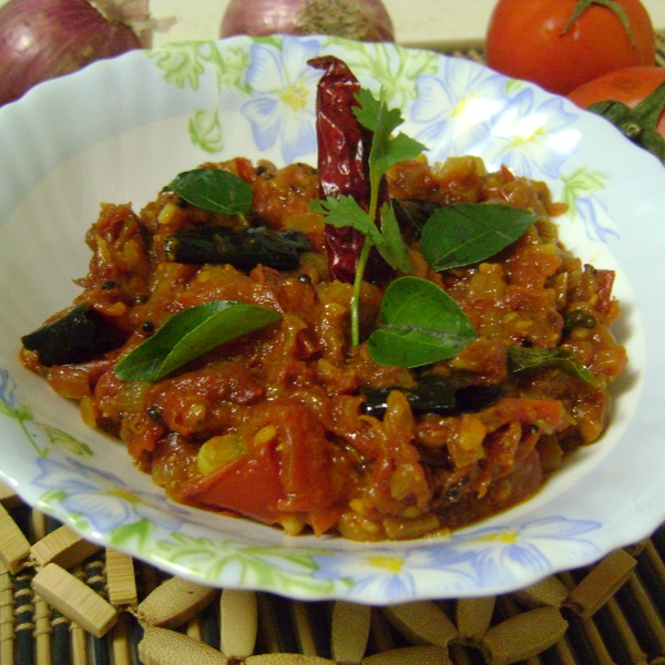How to make Tomato Pachadi - Andhra / Telangana Style