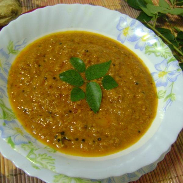 How to make Allam Pachadi (Ginger Chutney - Andhra / Telangana Style)