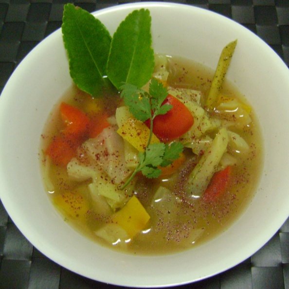 Photo of Lemony Bell Pepper & Cabbage Soup by Bethica Das at BetterButter