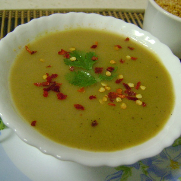 Photo of Roasted Moong Dal Soup by Bethica Das at BetterButter