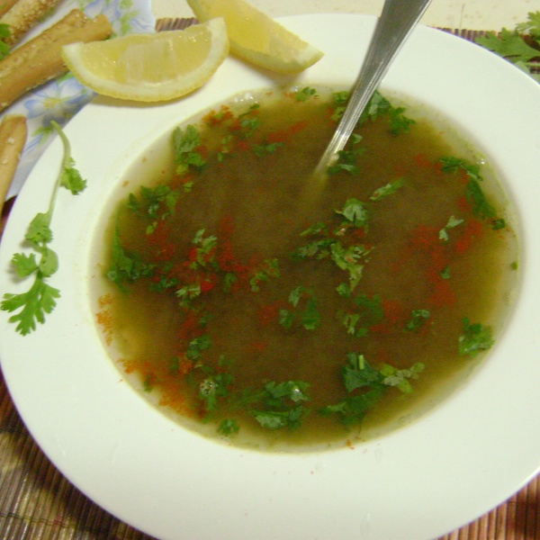 Photo of Coriander Lemon Clear Soup by Bethica Das at BetterButter