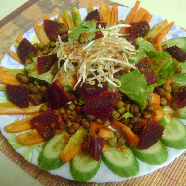 Photo of Veggie Salad by Bethica Das at BetterButter