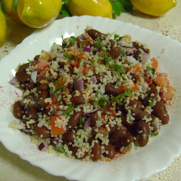 Photo of Rajma & Couscous Salad by Bethica Das at BetterButter