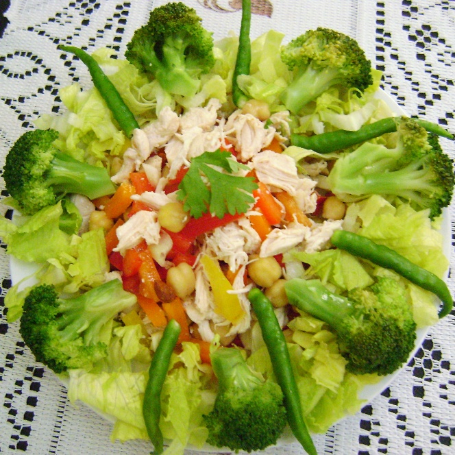 How to make Chicken & Vegetable Salad