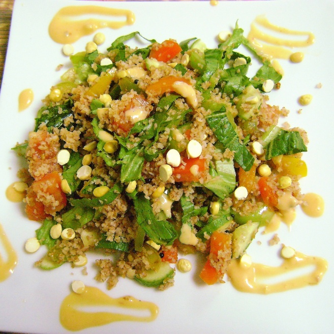 Photo of Couscous & Capsicum Salad by Bethica Das at BetterButter
