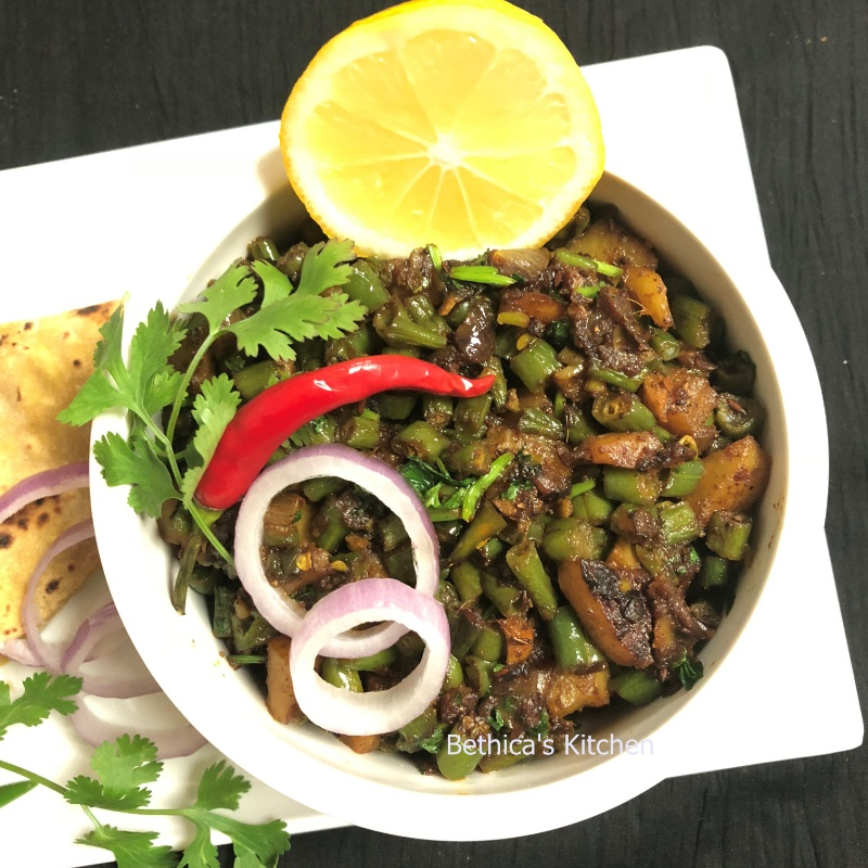 Photo of Beans & Potato Curry by Bethica Das at BetterButter
