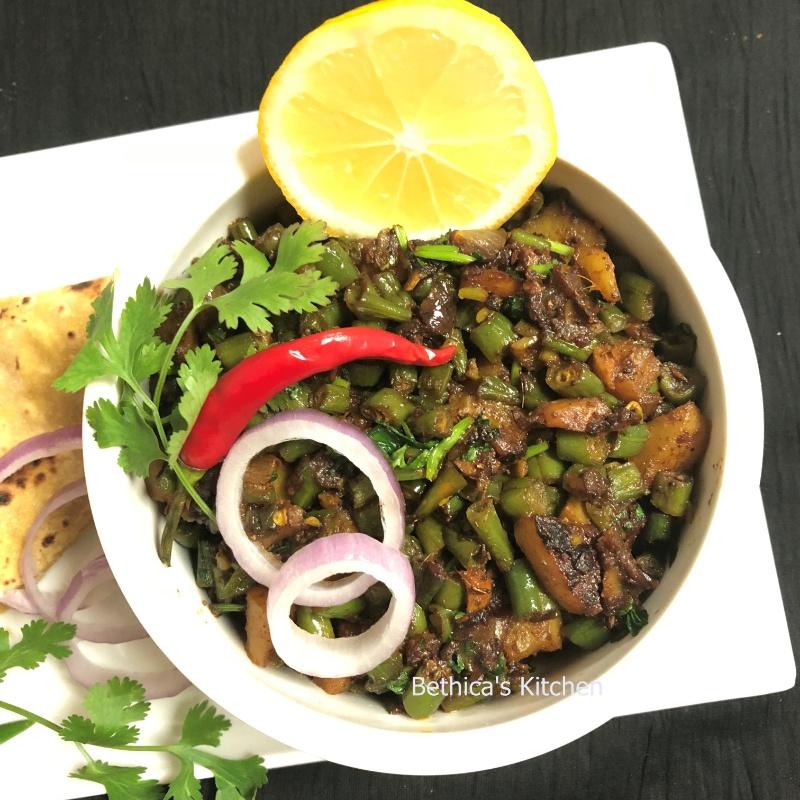 How to make Beans & Potato Curry