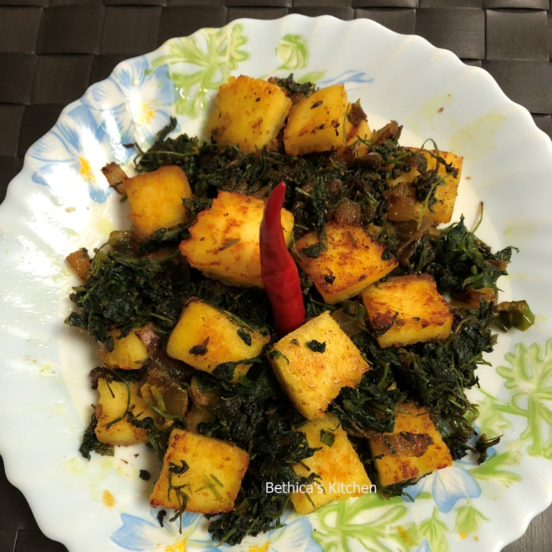 Photo of Methi Paneer Stir Fry by Bethica Das at BetterButter