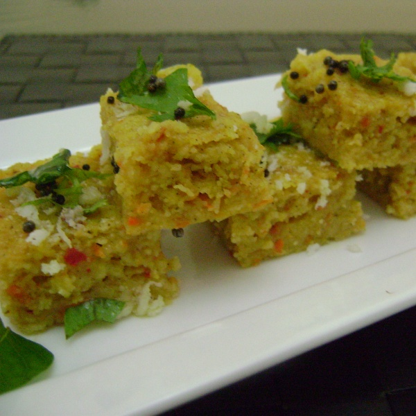 Photo of Carrot Dhokla by Bethica Das at BetterButter