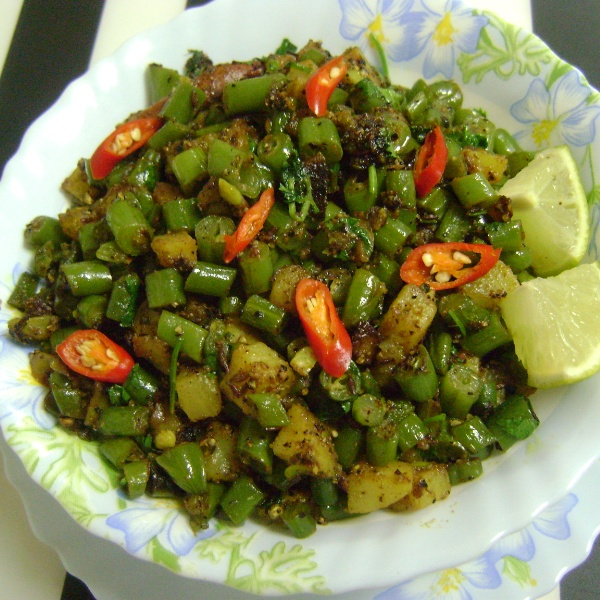 Photo of Aloo Beans Pepper Fry by Bethica Das at BetterButter