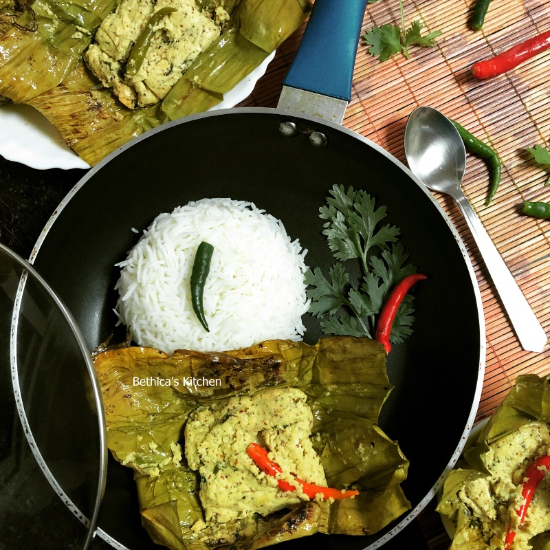 How to make Chanar Paturi (Paneer cooked in Banana Leaf - Bengali Style)